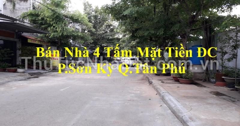 Bán Nhà Mặt Tiền DC 1 P.Sơn Kỳ Q.Tân Phú gần AEON Tân Phú