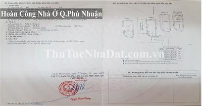 Dịch Vụ Hoàn Công Nhà Ở Quận Phú Nhuận