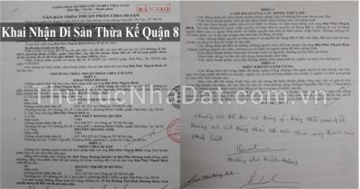 Dịch Vụ Khai Nhận Di Sản Thừa Kế Quận 8