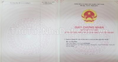 Dịch Vụ Làm Giấy Tờ Nhà Đất Quận Phú Nhuận