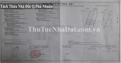 Dịch Vụ Tách Thửa Nhà Đất Quận Phú Nhuận